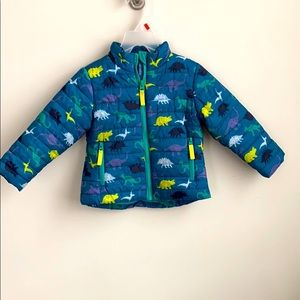 Cat & Jack coat jacket puffer 18 months zip up
